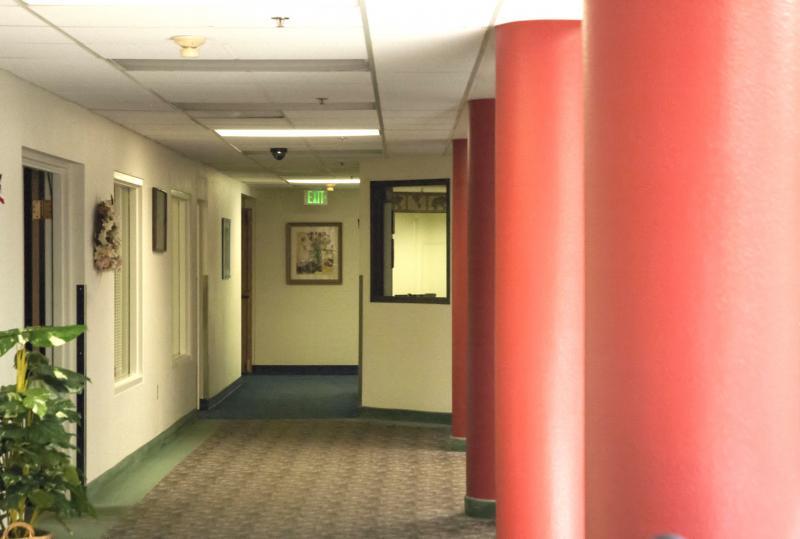 Hallway leading to Kirkland II and III