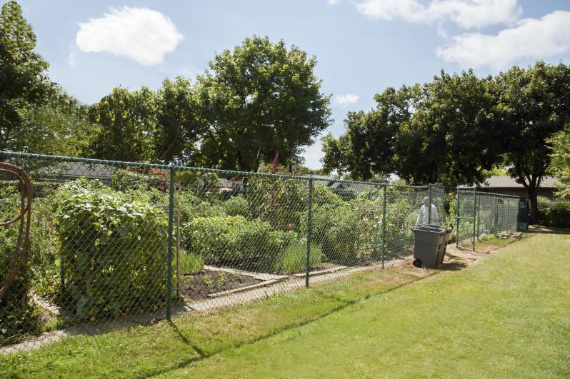 Resident Garden Area
