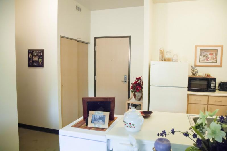 Typical One-Bedroom (Inside Unit)