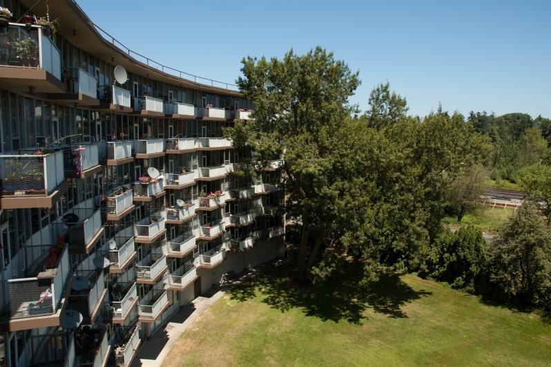 Eastside Balcony View